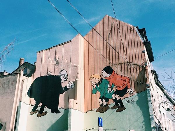 1364e5ba64 Brussels - Comic Strip Walk